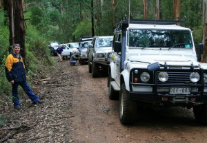 4WDcourse2011 Ron with Convoy